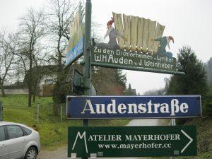 Audenstrasse, Kirchstetten